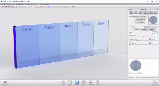 Lär dig om Color Density i KeyShot