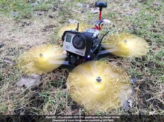 Ladda hem den nya OpenRC quadcopter!