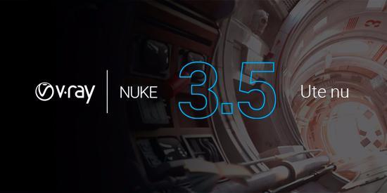 V-Ray 3.5 for NUKE ute nu!