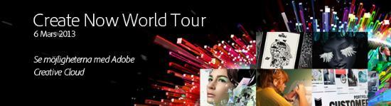 Se Adobe Creative Cloud på världsturné