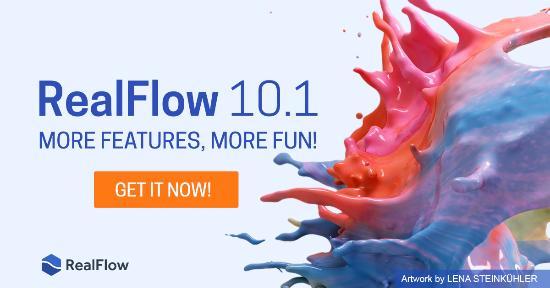 Uppdatera till RealFlow 10.1