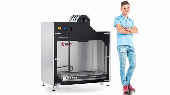En 3D-skrivare med STOR byggvolym