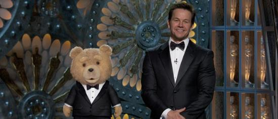 Ted som presentatör vid årets Oscarsgala