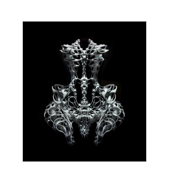 Iris van Herpen printar kläder i 3D