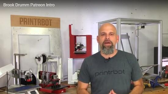 Brook Drum från Printbot är tillbaka i ny skepnad