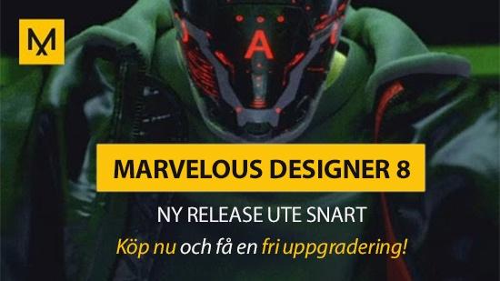 CLO – Köp Marvelous Designer nu och få en fri uppgradering!