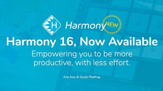 Toon Booms nya Harmony 16 är här!