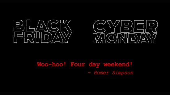 Black Friday – Cyber Monday – Mjukvara