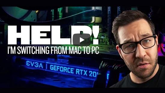 Nick från Grayscalegorilla byter Mac mot PC