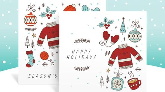 Adobe – Skicka miljövänliga julkort
