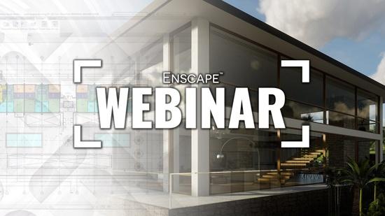 Webinar den 6 mars om material i Enscape