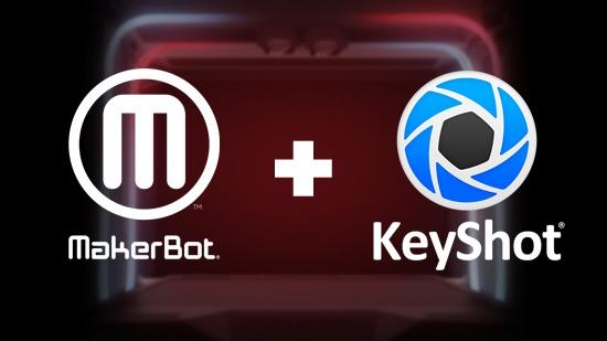 MakerBot använder KeyShot i bildproduktion