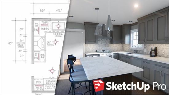 Nytt kök – från skiss till 3D-animation