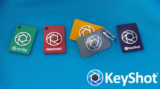 KeyShot-webinar – om X-Rite material