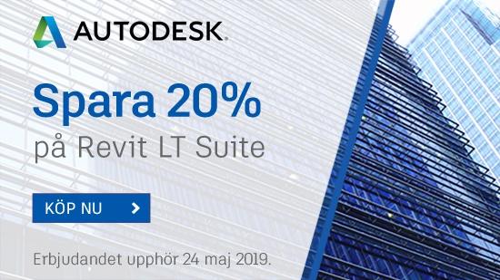 Autodesk Flash Sale – kort kampanj 20%