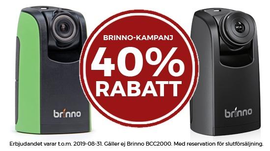 Brinno-kampanjen förlängd!