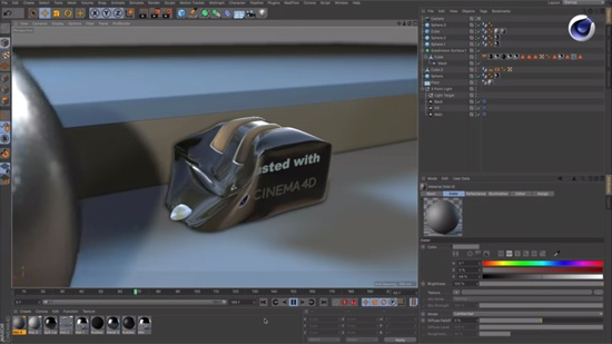 Gör plastisk deformation med Cinema 4D