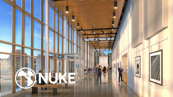 Nuke – även för arkitekturvisualiseringar