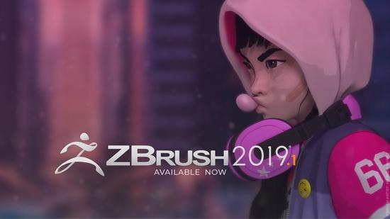 ZBrush 2019.1 ute nu – se till att uppgradera