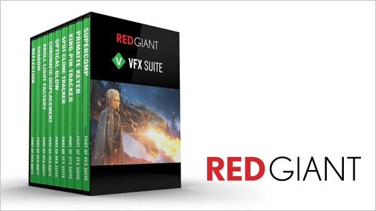 VFX Suite – ny kollektion från Red Giant
