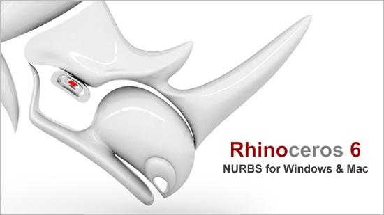 Rhino 6 – nu för Windows och Mac