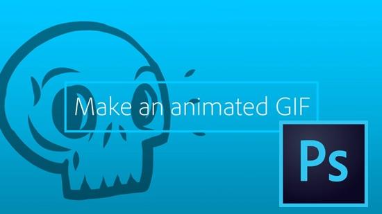 Lär dig göra animerad GIF med Photoshop CC
