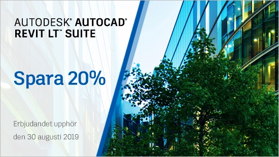 AutoCAD Flash Sale – till och med 30 augusti