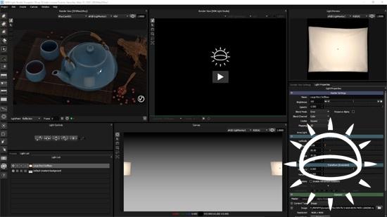 Lär dig komma igång med HDR Light Studio