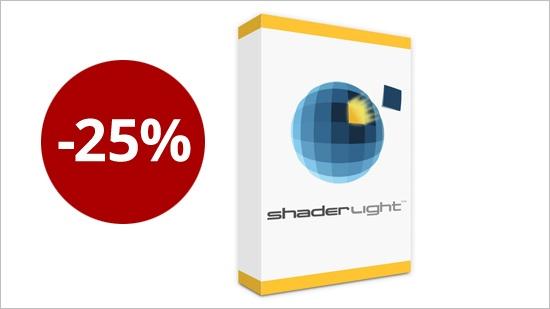 Kampanj på Shaderlight Pro – 25% rabatt!