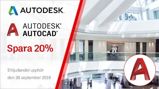 Autodesk Flash Sale – upphör 26 september