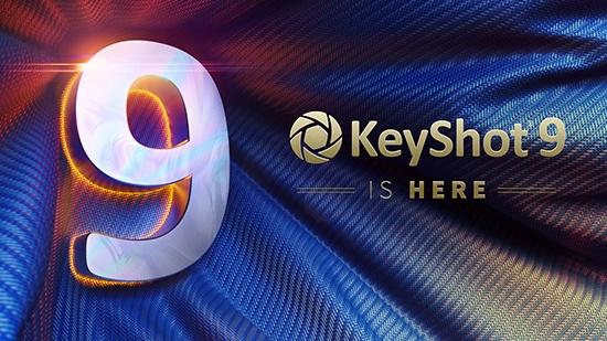 KeyShot 9 är släppt!