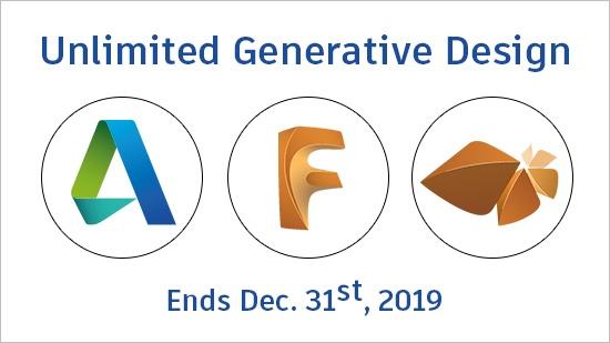 Obegränsad Generative Design året ut!