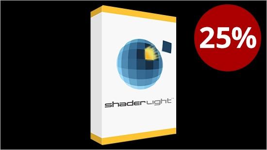 Black Friday – Shaderlight Pro – 25% rabatt