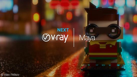 V-Ray Next for Maya Update 2 ute nu