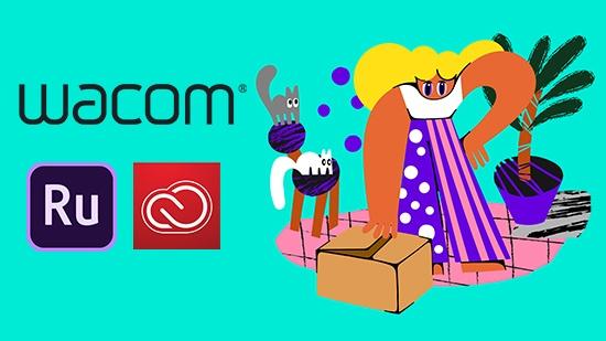 Köp Wacom-produkter – nu inkl Adobe CC