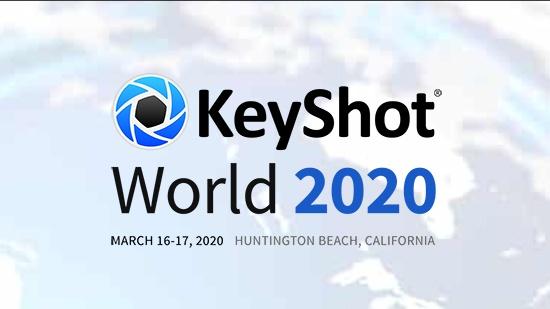 KeyShot World i Kalifornien – boka plats nu!