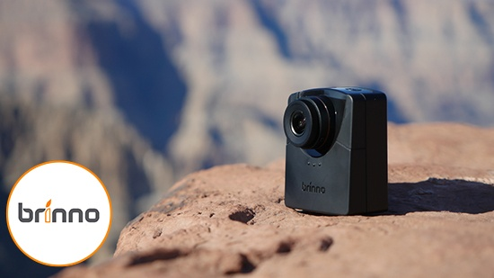 Med Brinno timelapse-kamera på resan