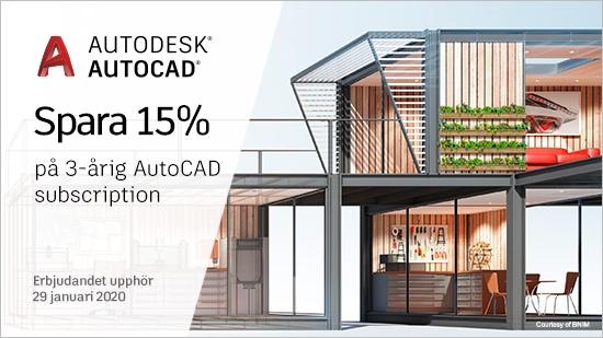 Autodesk Flash Sale förlängd till 29 januari