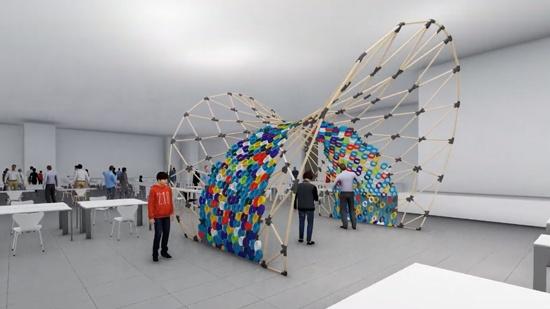 Stor kollektiv 3D-utskrift på årets 3D Meet Up