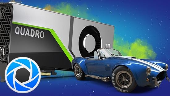 Vinn KeyShot 9 och NVIDIA Quadro RTX 5000