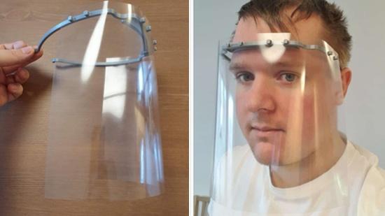 Hjälp vårdpersonalen – 3D-printa visir!