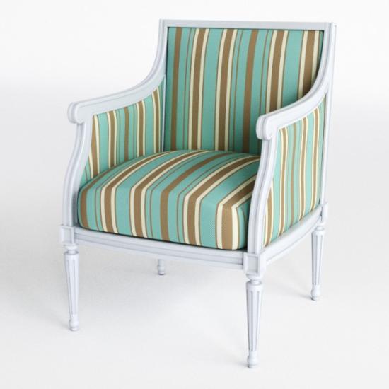 Ladda hem en Casanova-stol som 3D-modell