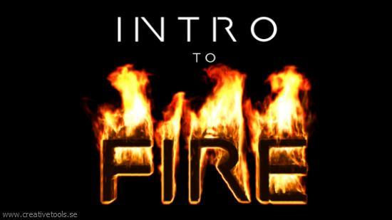 Skapa eld i Blender