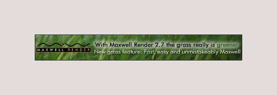 Uppgradera till Maxwell Render – få 50% rabatt