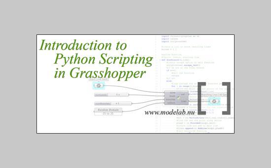 Intro till pythonscriptning i Grasshopper