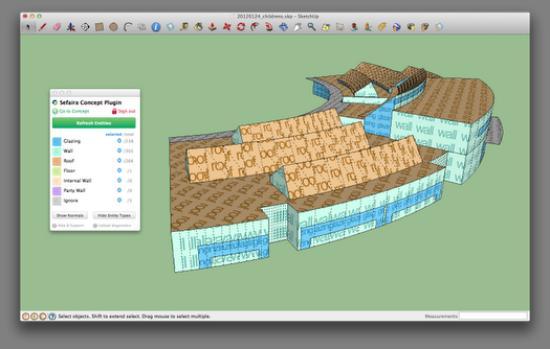 Bygg energisnålt med Sefaira och Sketchup Pro