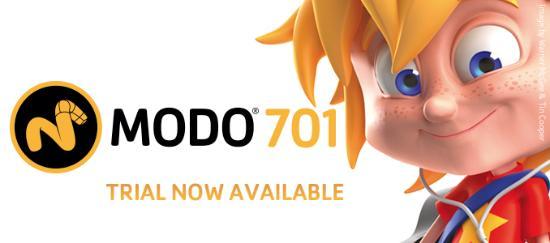 MODO 701 finns att ladda hem som demoversion