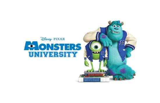 Mycket om Pixars nya Monsters University