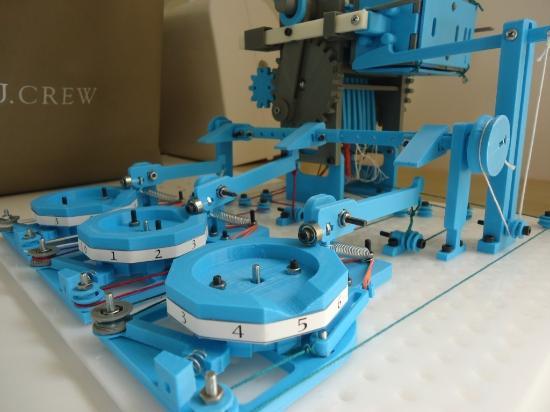 Dagens 3D-print – Mekanisk räknemaskin!