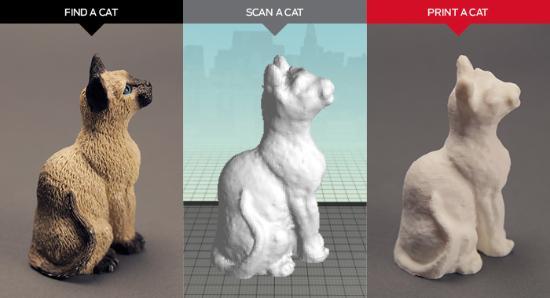 Om MakerBots Cat Scan